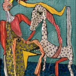 Cheval et coryphée 195x130